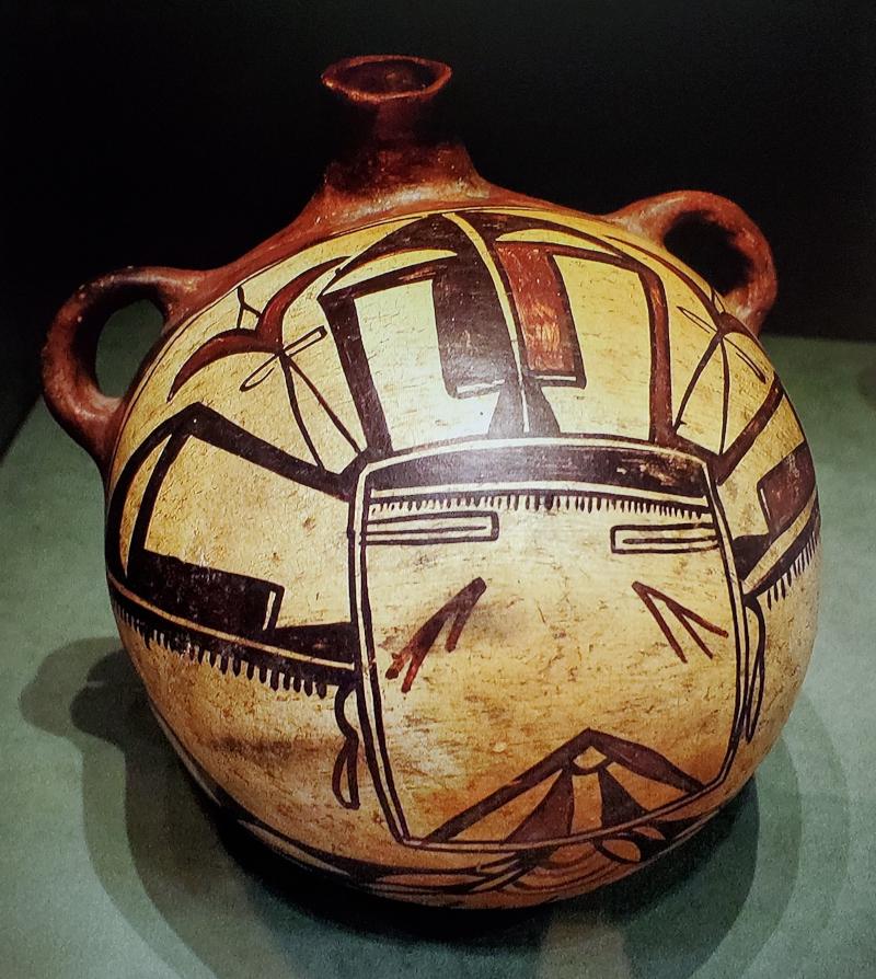 Pit Firing Techniques - Hopi water pottery - Pueblo pottery
